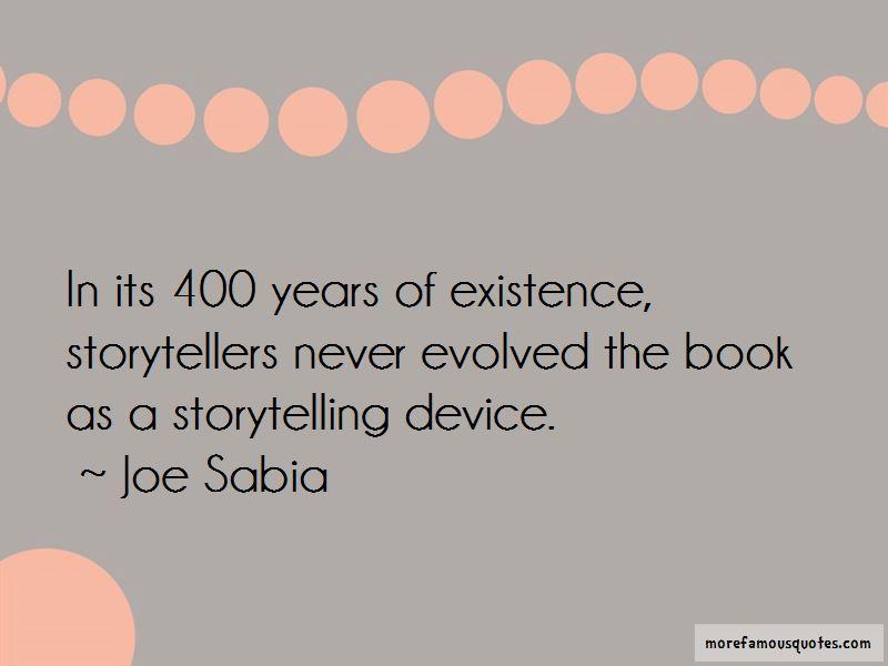 Joe Sabia Quotes