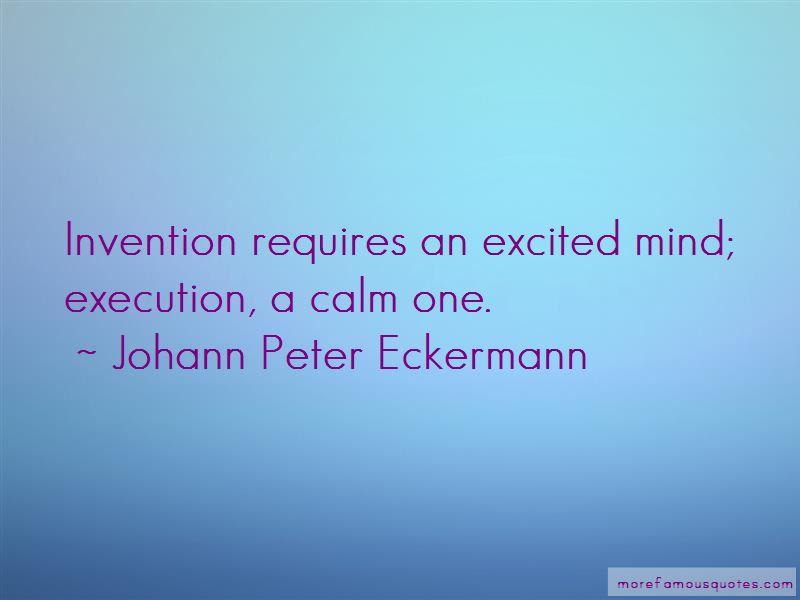 Johann Peter Eckermann Quotes Pictures 3