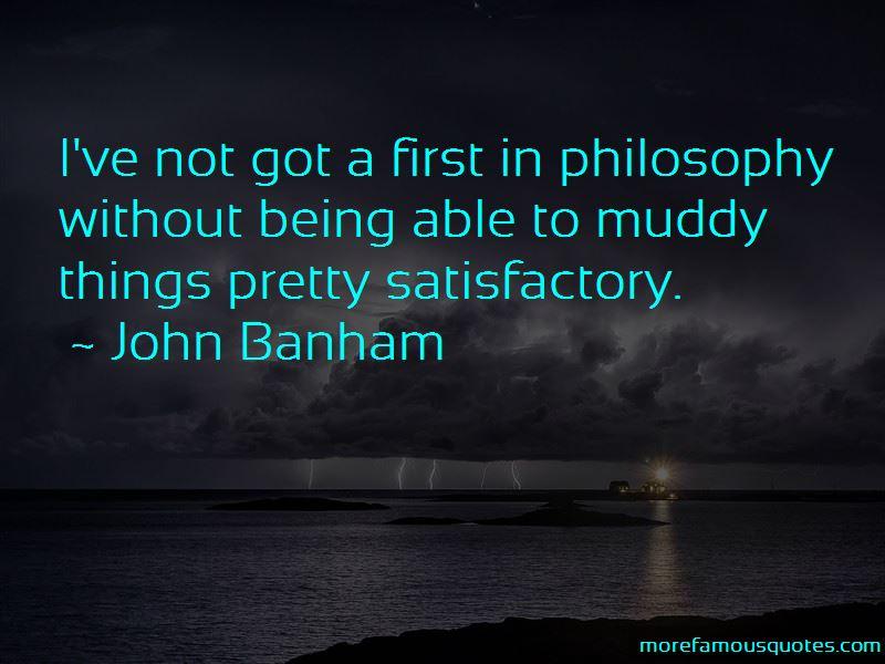 John Banham Quotes