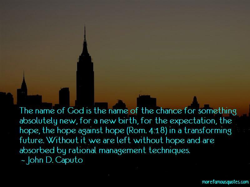 John D. Caputo Quotes Pictures 2