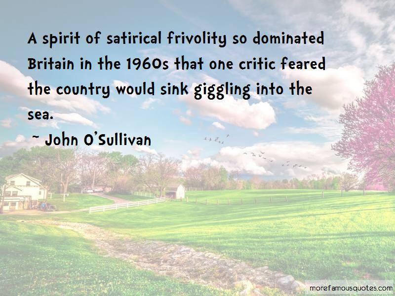 John O'Sullivan Quotes Pictures 2