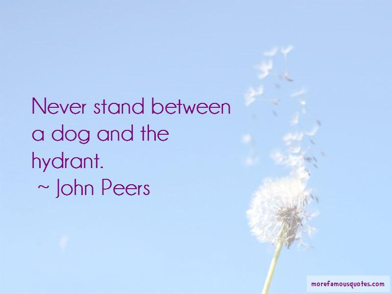 John Peers Quotes