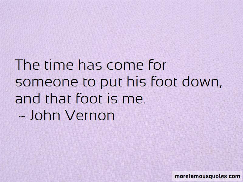 John Vernon Quotes
