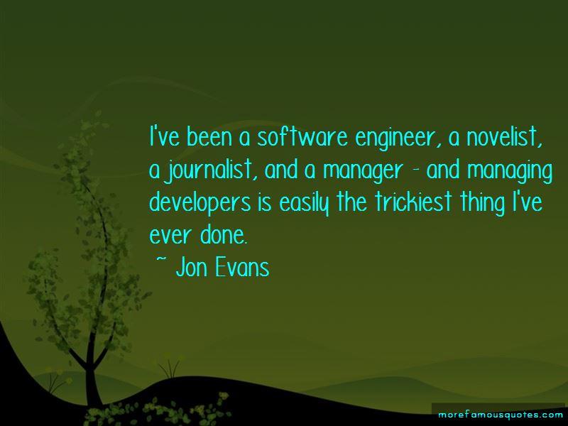 Jon Evans Quotes Pictures 2