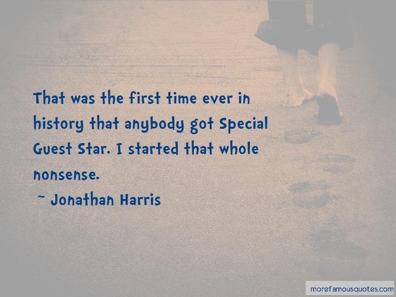 Jonathan Harris Quotes