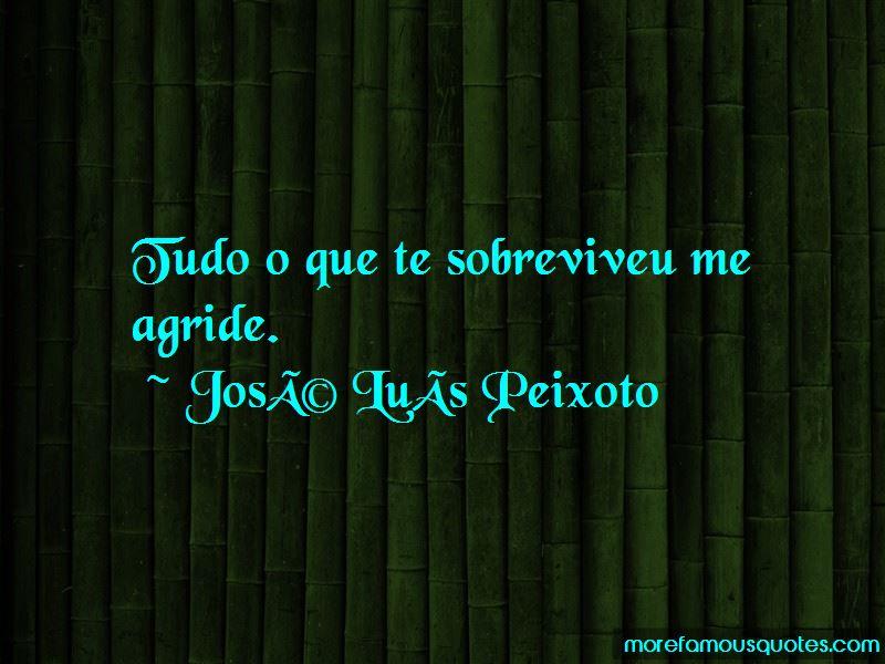 Jose Luis Peixoto Quotes