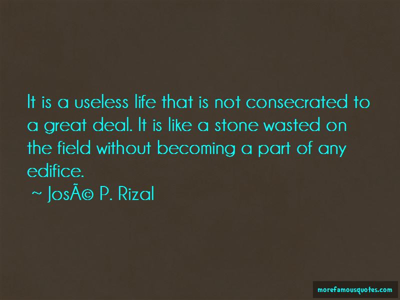 Jose P. Rizal Quotes