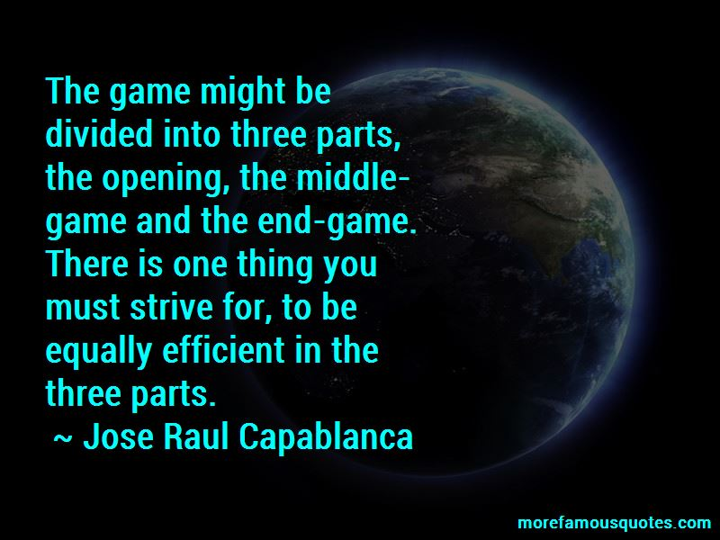 Jose Raul Capablanca Quotes Pictures 4
