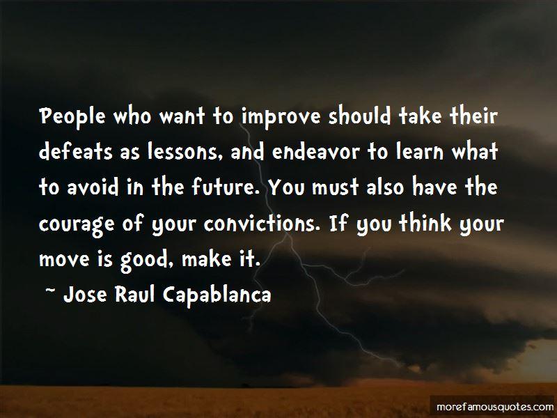 Jose Raul Capablanca Quotes