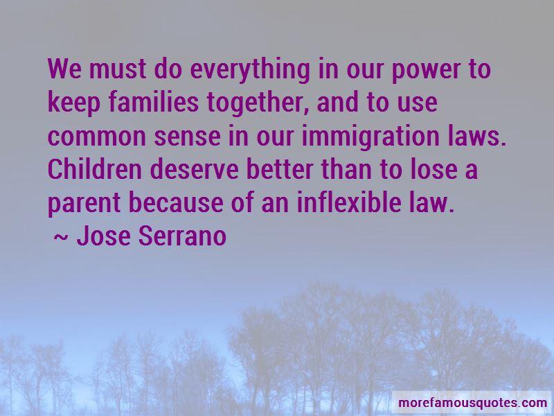 Jose Serrano Quotes