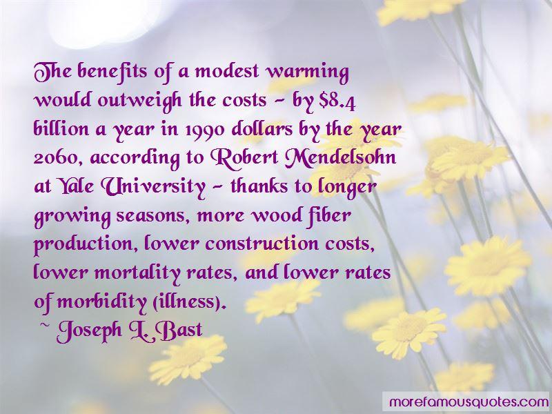Joseph L. Bast Quotes