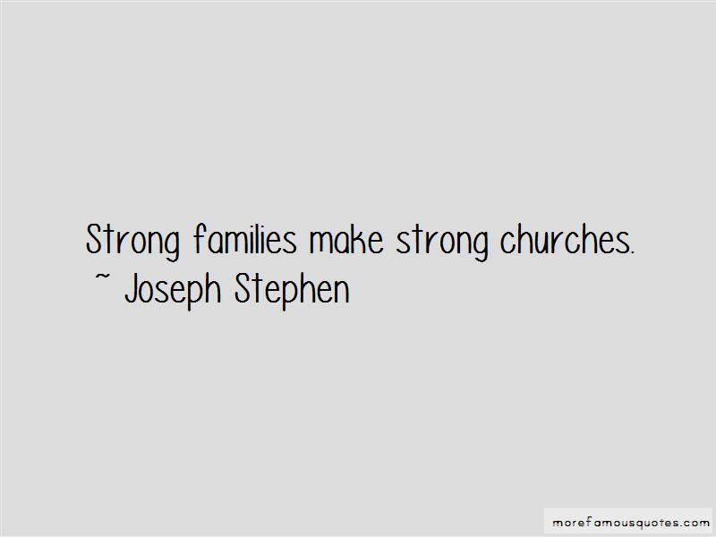 Joseph Stephen Quotes