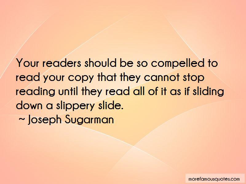 Joseph Sugarman Quotes Pictures 4