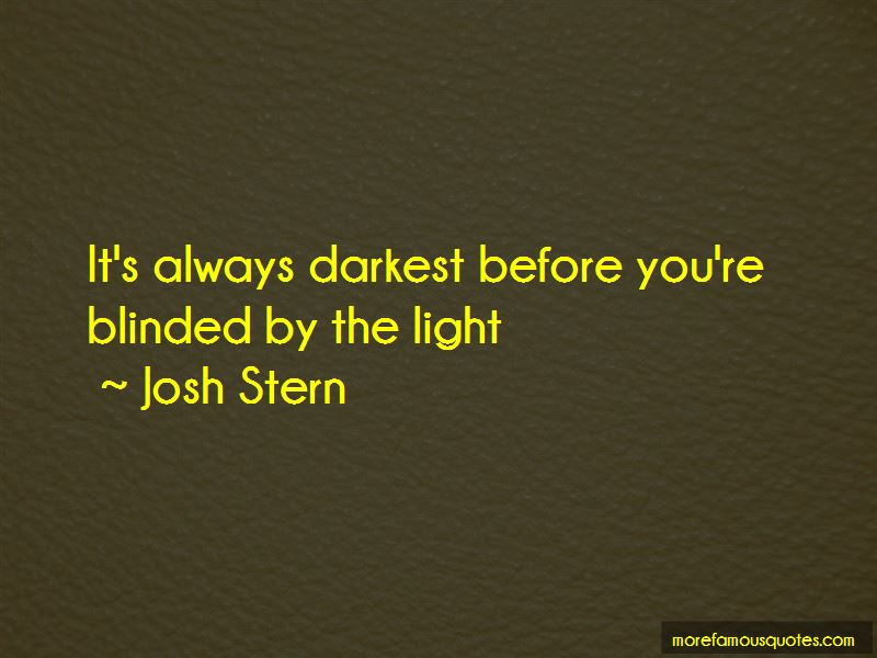 Josh Stern Quotes Pictures 4