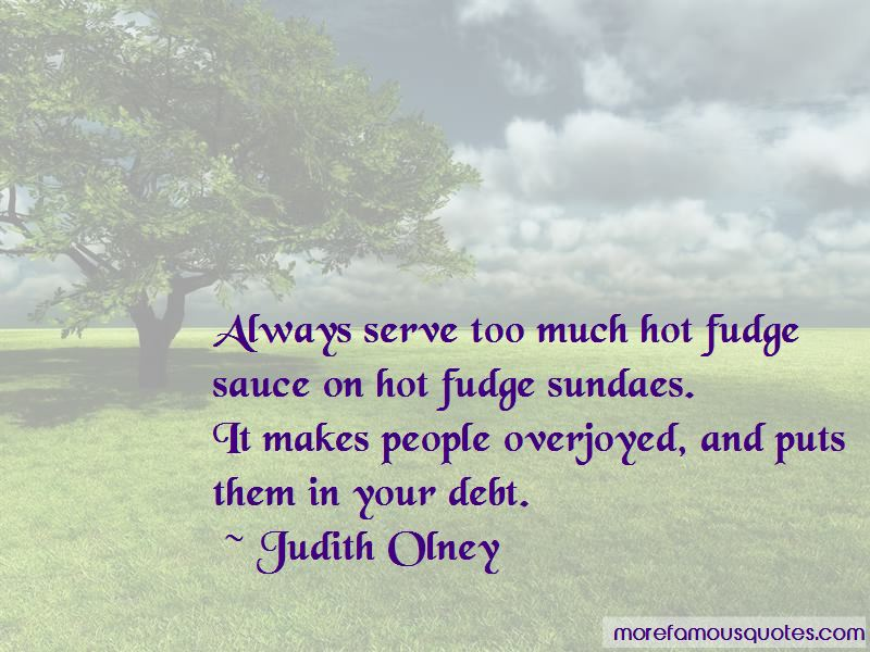 Judith Olney Quotes