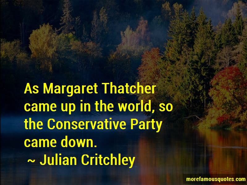 Julian Critchley Quotes Pictures 2