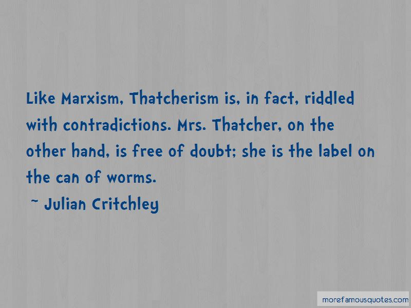 Julian Critchley Quotes