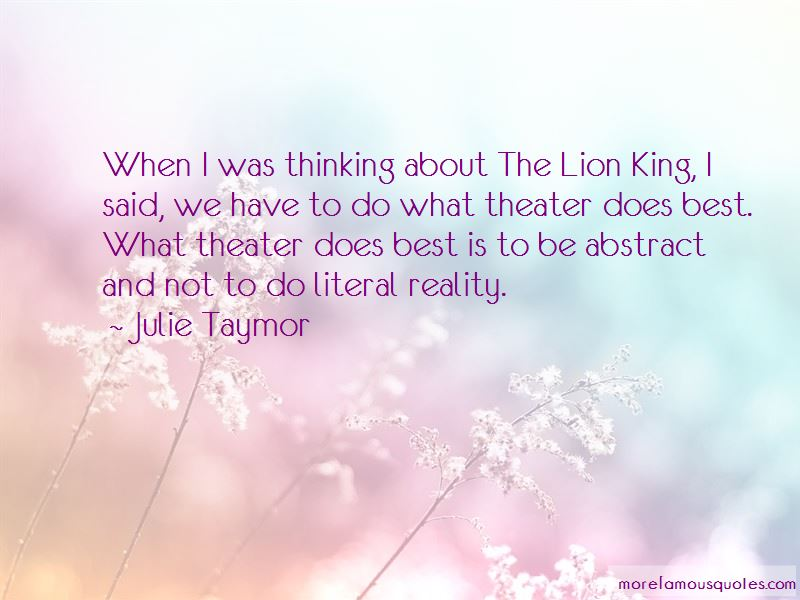 Julie Taymor Quotes Pictures 2