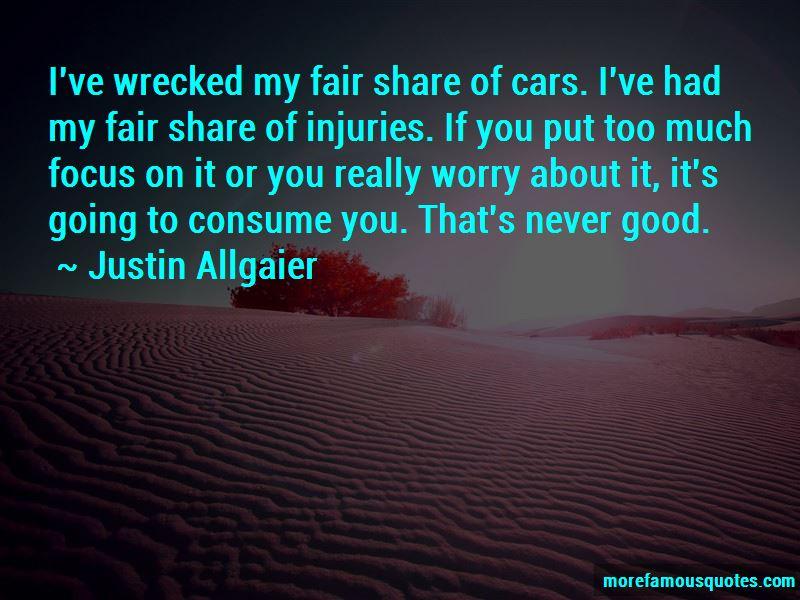 Justin Allgaier Quotes Pictures 3