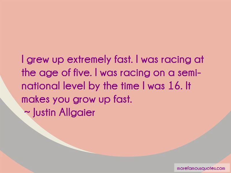 Justin Allgaier Quotes