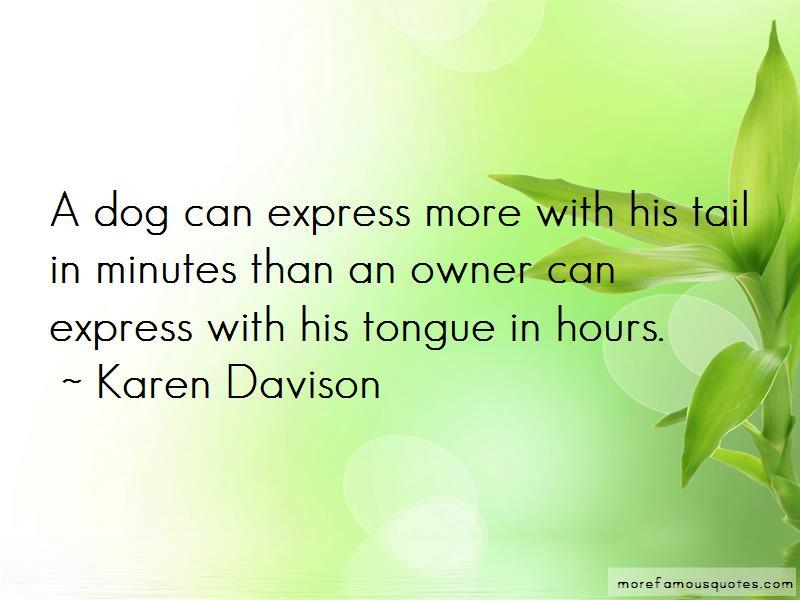 Karen Davison Quotes Pictures 2