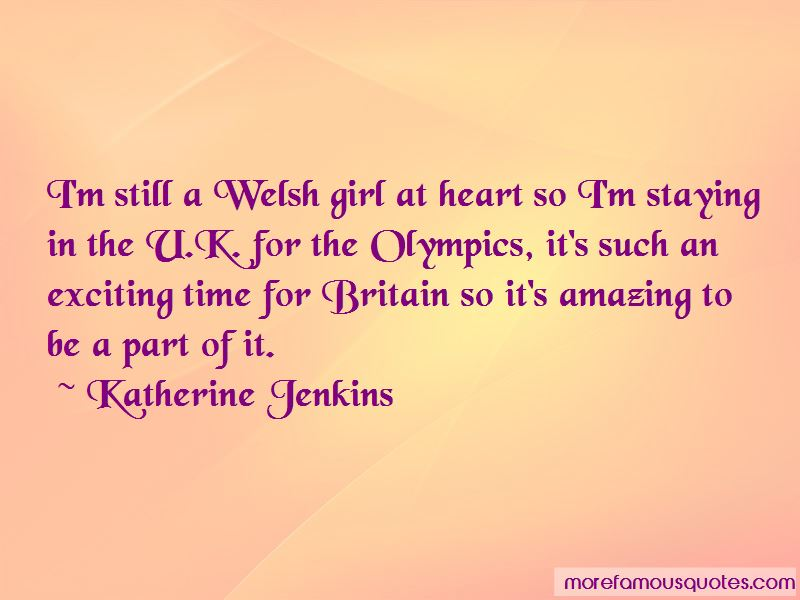 Katherine Jenkins Quotes