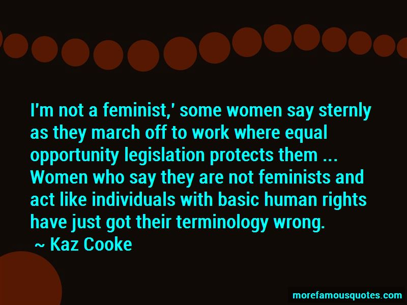 Kaz Cooke Quotes Pictures 3