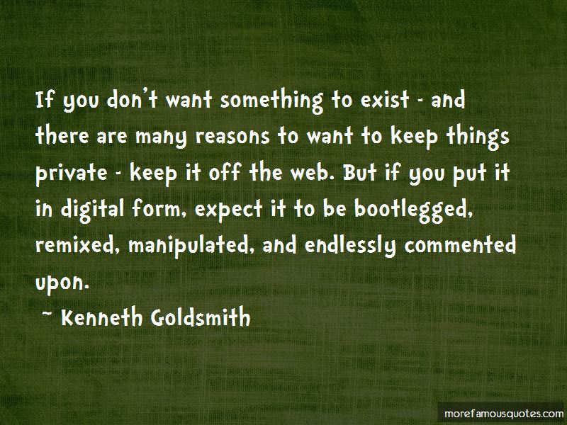Kenneth Goldsmith Quotes Pictures 2