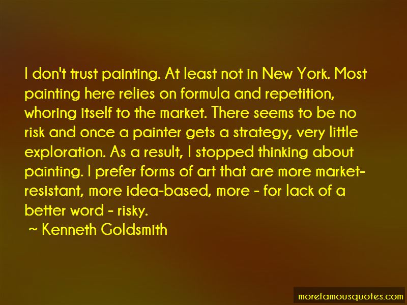 Kenneth Goldsmith Quotes