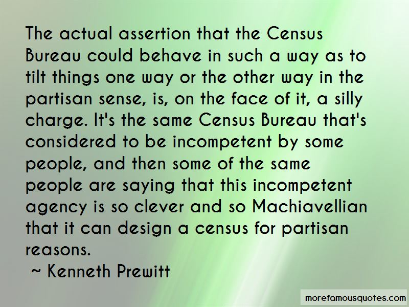 Kenneth Prewitt Quotes Pictures 4