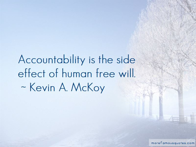 Kevin A. McKoy Quotes