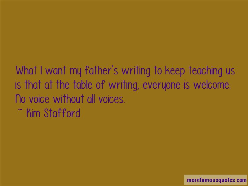 Kim Stafford Quotes Pictures 4