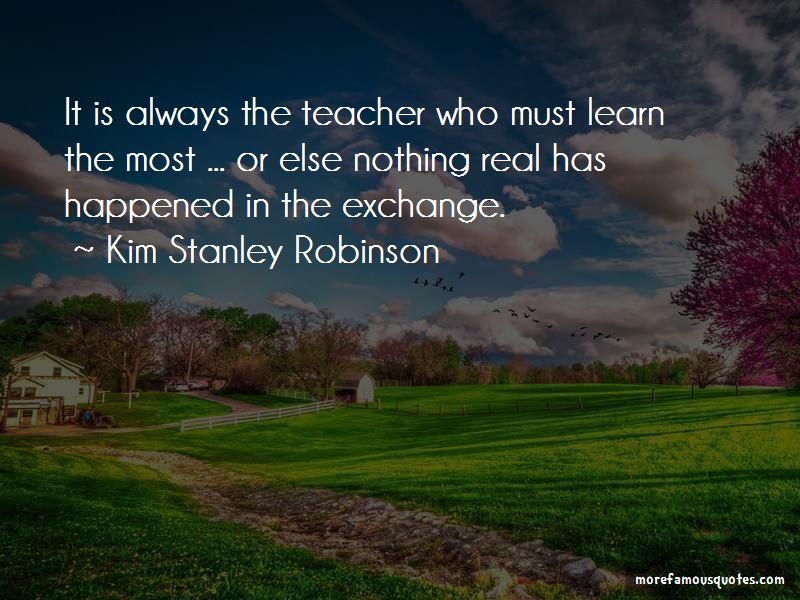 Kim Stanley Robinson Quotes