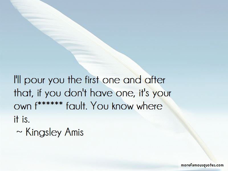 Kingsley Amis Quotes Pictures 2