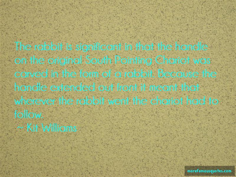 Kit Williams Quotes