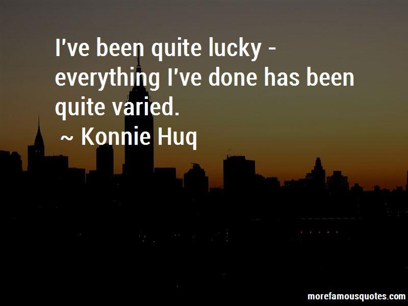 Konnie Huq Quotes Pictures 2