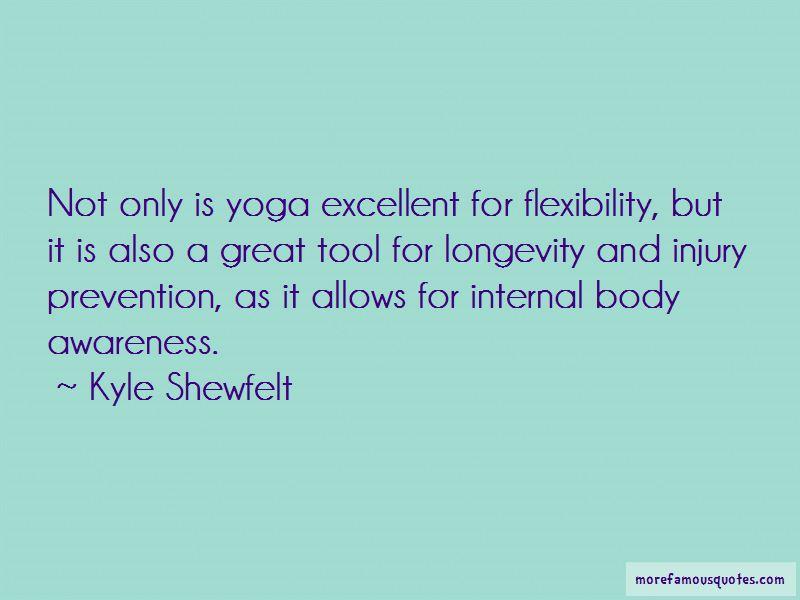 Kyle Shewfelt Quotes