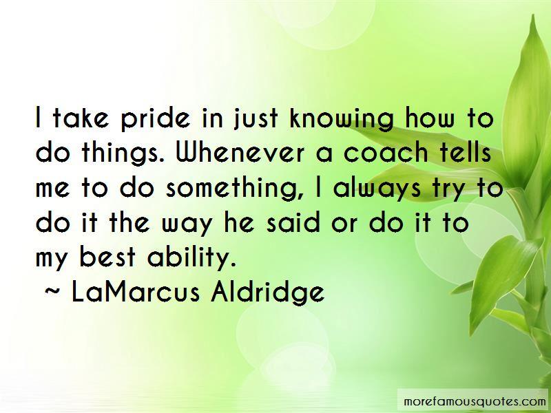 LaMarcus Aldridge Quotes Pictures 4