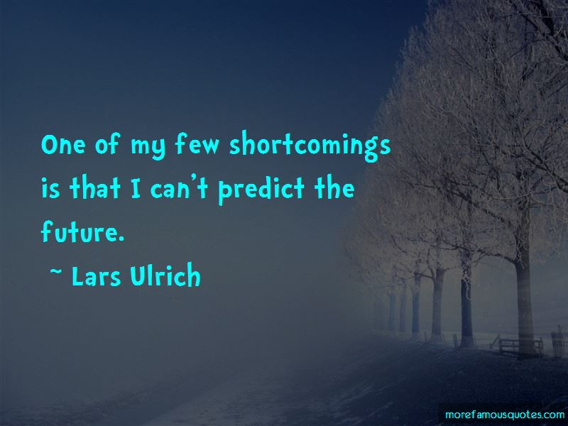 Lars Ulrich Quotes Pictures 2