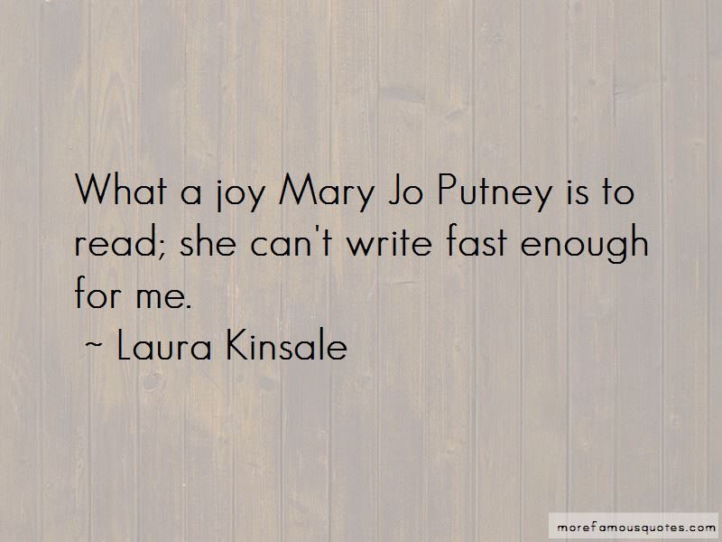 Laura Kinsale Quotes