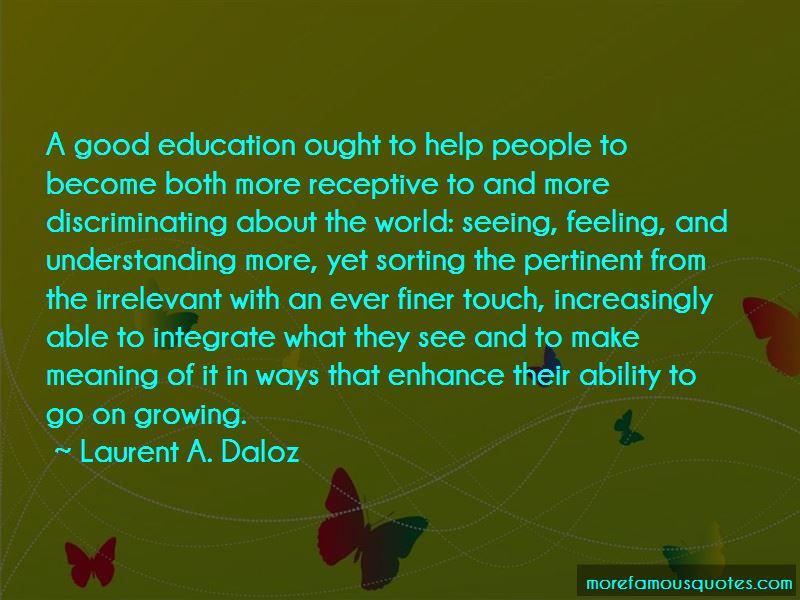 Laurent A. Daloz Quotes Pictures 3