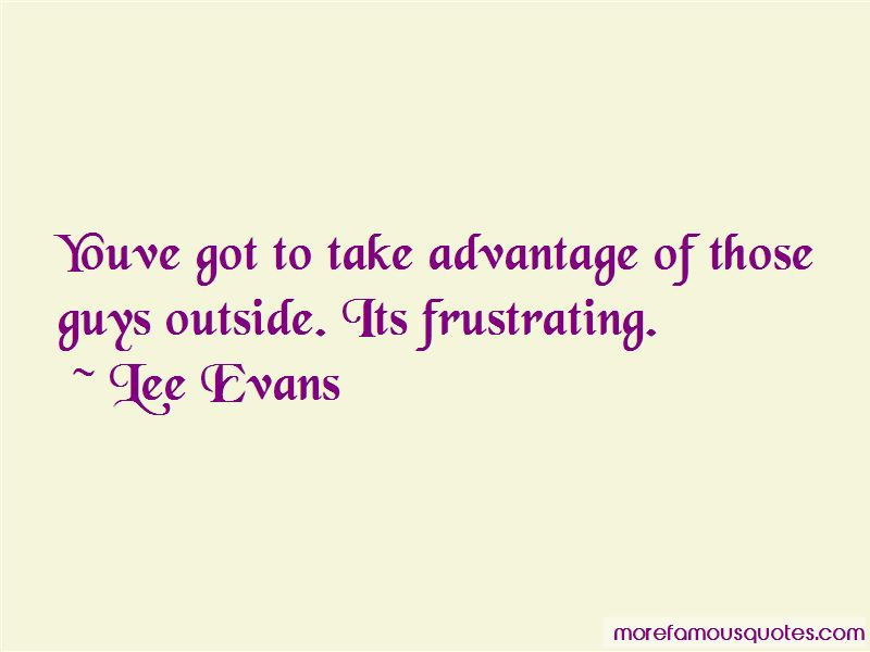 Lee Evans Quotes Pictures 3