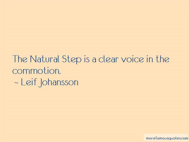Leif Johansson Quotes Pictures 2