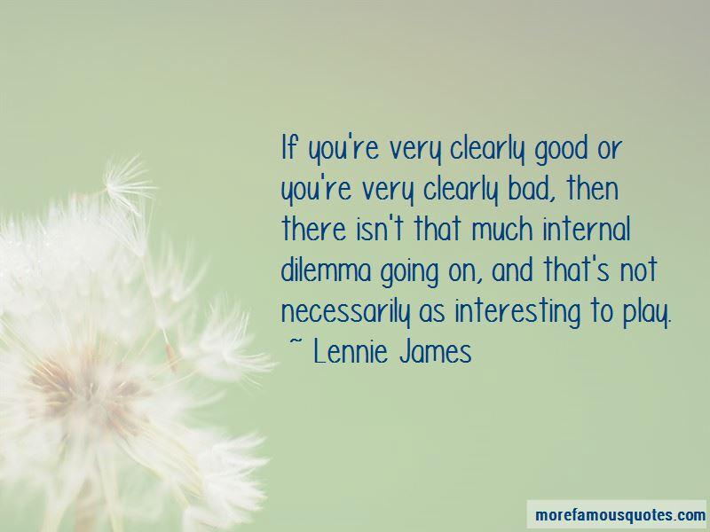 Lennie James Quotes Pictures 4