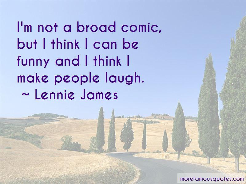 Lennie James Quotes