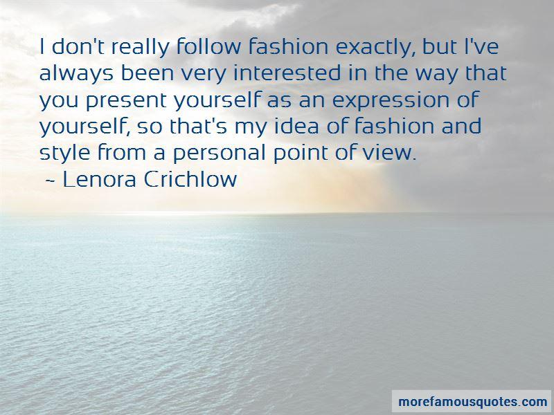 Lenora Crichlow Quotes