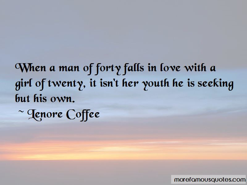 Lenore Coffee Quotes
