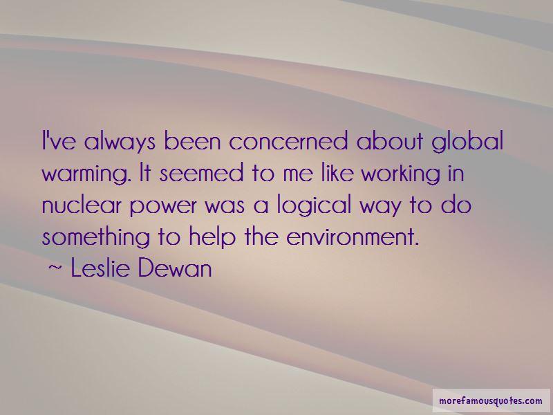 Leslie Dewan Quotes Pictures 2