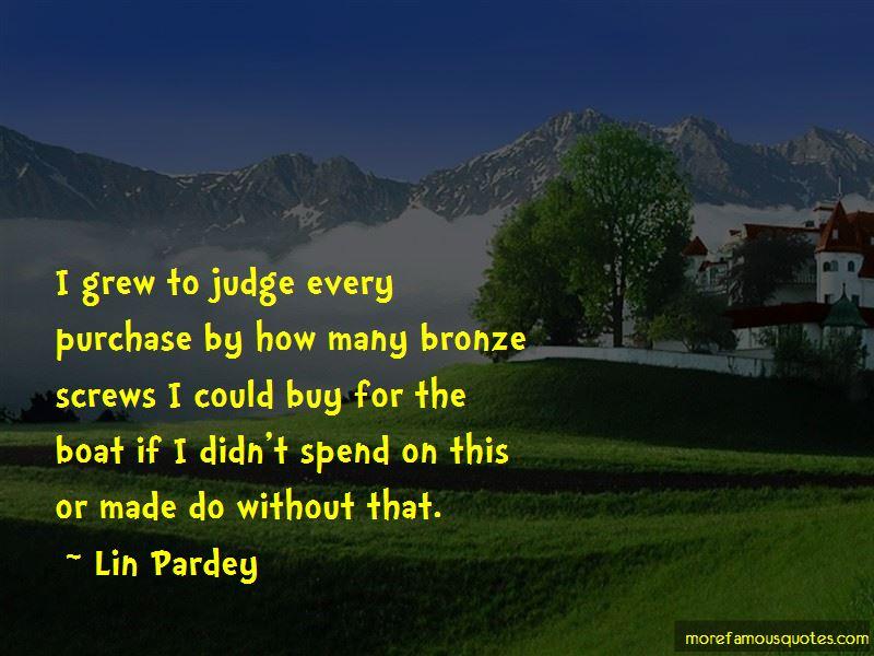 Lin Pardey Quotes