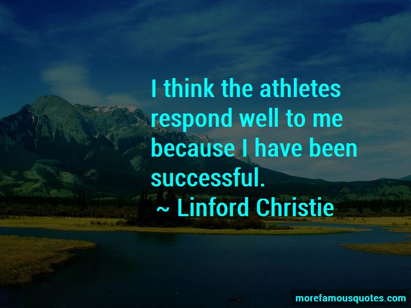 Linford Christie Quotes Pictures 2